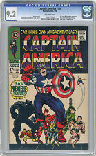 1968 Captain America 100 CGC 9.2 Origin Retold