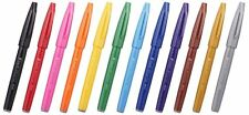 Pentel JAPAN SES15C-12 Pentel Fude Touch brush Sign Pen #12 colors SET