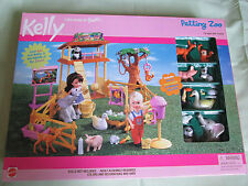 BRAND NEW KELLY SISTER OF BARBIE DOLL PETTING ZOO PLAYSET 67351-91 MATTEL 2000