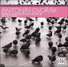 Dvorak: Piano Quintets Op. 5 & 81 (CD, Sep-2007, Arte Nova Classics) NEW SEALED