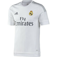 NEW MEN'S ADIDAS REAL MADRID 2015-2016 HOME SOCCER JERSEY~SIZE MEDIUM~ #S12652