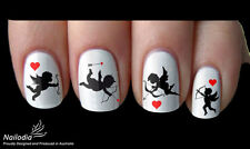 Valentines love Angel Nail Art Sticker Water Transfer Decal Tattoo 47