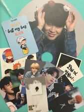 BTS BANGTAN JIMIN FANGOODS LUGGAGE TAG RADIATION STICKER FAN PHOTOCARD 8P PB