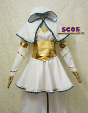 League of Legends LOL Iced Ashe cosplay Costume Dress white