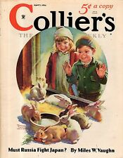 1934 Colliers april 7 - Frances Tipton Hunter; Frank Buck; Jimmy Foxx - Baseball