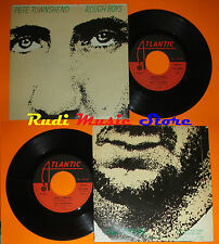 "LP 45 7"" PETE TOWNSHEND THE WHO Rough Boys And I Moved 1980 ATLANTIC ITALY no cd"