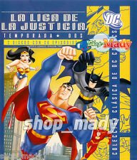 Justice League Season Two - La Liga de la Justicia Temporada 2 Blu-Ray en Inglés