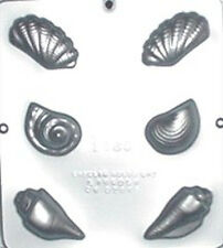 Sea Shells Assembly Chocolate Candy Mold 1289 NEW