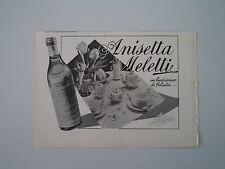 advertising Pubblicità 1941 ANISETTA MELETTI