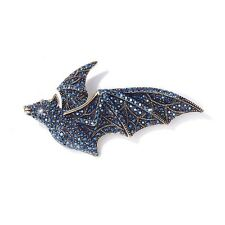 Heidi Daus Batty For You Halloween Bat Design Pin Brooch