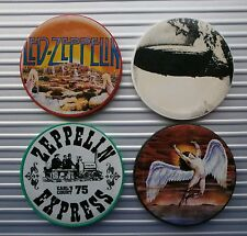 SET OF 4 LED ZEPPELIN COLLECTIBLE CASINO POKER CHIPS - NEW