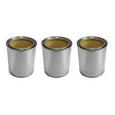3x Brenngeldosen Dosen aus Weißblech 0,5L inkl Deckel für Gel oder Bio Ethanol