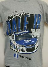 Dale Earnhardt Jr Nationwide Chassis 2 Spot Gray T - Shirt Adult Large # 88