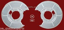 BMW 3 E46 E36 Rear Left Right Side Brake Disc Cover Back Protection Plate Zinced