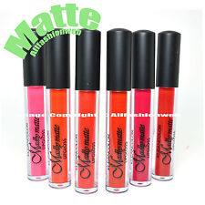 KLEANCOLOR FULL 6 SHADES MADLY MATTE LIP GLOSS HIGHLY PIGMENT LIQUID LG1813