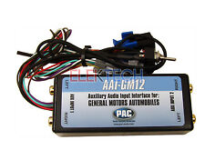 Dual Auxiliary Audio Input Adapter Interface for General Motors Factory Radios