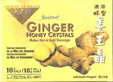 Prince of Peace,Instant Ginger, Honey Crystals, Individual wrapped, ( New )