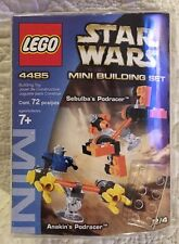 LEGO Star Wars Mini Building Set 4485 PODRACERS Factory Sealed New 72pcs4/4