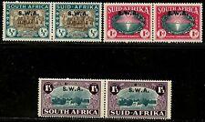 SOUTH WEST AFRICA 1938 Landing of Huguenots set  SG#111-113 MLH $75