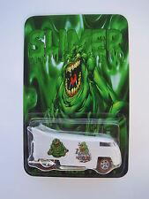 Hot Wheels VW Drag Bus Custom Ghost Busters Slimer Real Riders