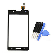 Front Touch Screen Digitizer Glass + Tools For LG Optimus L7 II 2 P710 Black