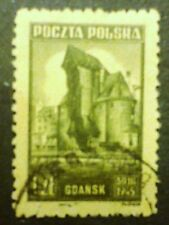 POLAND STAMPS Fi377 Sc370 Mi410 -  Monuments of Gdansk,1945,used