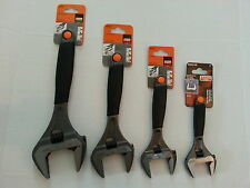 """BAHCO 4pc ERGO Wide Mouth Adjustable Wrench Set, 6"""",8"""",10"""",12"""" #9029-9035 R US"""