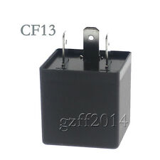 Electronic LED Flasher Relay For Car Turn Signal Light Adjustable 3 pins