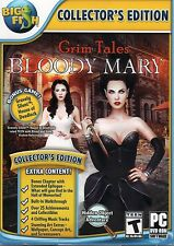 Grim Tales Bloody Mary PC Games Windows 10 8 7 Vista XP Computer hidden object