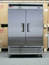 2 Door FREEZER Commercial Stainless Double Door Reach In Brand New Up Right