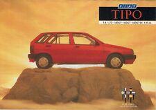 Fiat Tipo 1989 UK Market Mailer Foldout Brochure 1.4 1.6 DGT SX 1.7D 1.9 T.dS