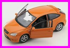 SCHNELL VERSAND Ford Focus ST orange 1:34-39 Welly Modell Auto NEU & OVP