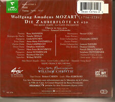 2-CDs MOZART:THE MAGIC FLUTE Erato 12705 WILLIAM CHRISTIE played once Mint-.