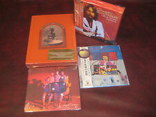 GEORGE HARRISON JAPAN OBI Replica CD BOX SET + DELUXE DVD SET + 2 EXTRA RARE CDS