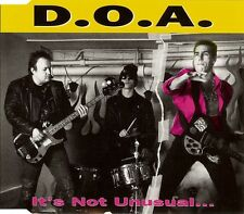 D.O.A. It's not unusual... CD neuf scellé