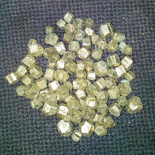 50 x Iron Pyrite Rough Nuggets 4mm-8mm Spain Mineral Crystal Wholesale