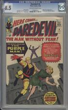 DAREDEVIL 4 - CGC 8.5 - First appearance of the Purple Man - Marvel Comics
