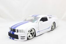 JADA 2006 FORD MUSTANG GT WHITE 1/24 DIECAST CAR NEW WITHOUT BOX
