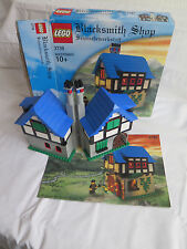 Lego Blacksmith Shop Retired Set 3739 Castle 100% COMPLETE My Own Creation boxed