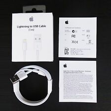 Lot of 2 Original Apple iPhone 5 6 Plus 6s Data 3FT Lightning Charger Cable