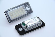 LED smd xenon plaque d'immatriculation éclairage AUDI q7 a3 s3 8p a4 s4 b6 b7 a6 s6 c6 4f