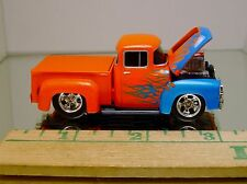 M2 '56 FORD F-100 PICKUP WILD BLOWN ENGINE, OPENING HOOD AND RUBBER TIRES LTD