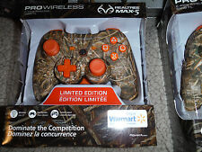 REDUCED ORANGE Power A Realtree Pro Wireless PS3 Controller Xtra CAMO ORANGE