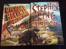 Stephen King's Desperation and Richard Bachman's The Regulators, Both 1st/1st
