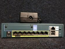 CISCO ASA5505-BUN-K9  ASA 5505 Appliance with SW, 10 Users, 8 ports, 3DES/AES