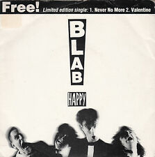 """BLAB HAPPY - NEVER NO MORE / VALENTINE 7"""" Limited Edition F-Beat XX40 Leicester"""