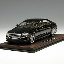 Frontiart 1:18 Benz S CLASS S600 S500 V222 Black