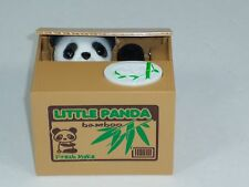 Mischief Little Panda Automated Stealing Coin Saving Box Piggy Bank