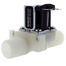 "1/2"" 12-Volt DC Electric Solenoid Valve N/C Plastic Body Water etc DDT-CS-12VDC"