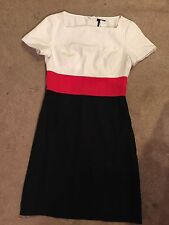 East 5th White, Red and Black Dress NWT Size 10 $59.99